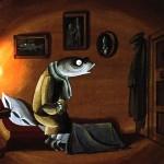"""Сказка """"Премудрый пескарь"""", М. Е. Салтыкова-Щедрина."""