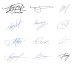 Разработка красивой подписи. Взгляд графолога
